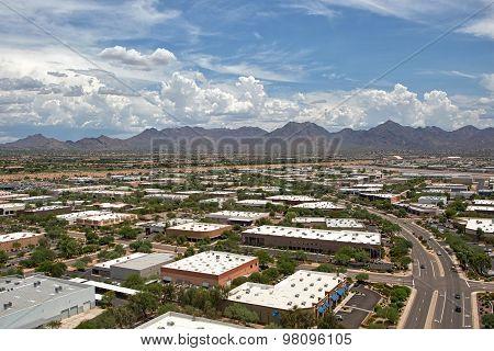 Monsoon Clouds Over Scottsdale, Arizona