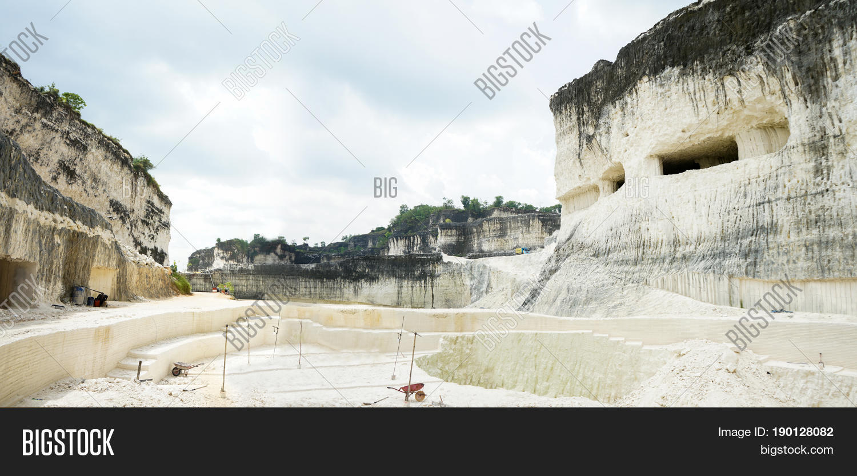 Large Quarry Limestone Image & Photo (Free Trial) | Bigstock