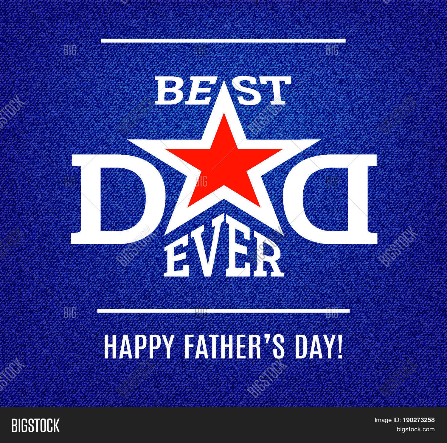Happy Fathers Day Vector Photo Free Trial Bigstock