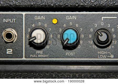 Guitar Amplifier detail