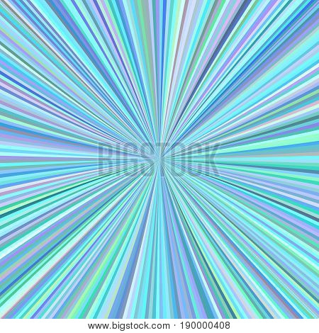 Cyan abstract starburst background from radial stripes