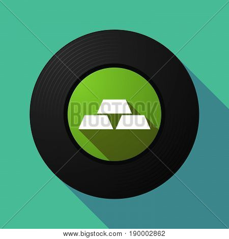 Long Shadow Music Disc With Three Gold Bullions