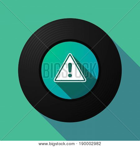 Long Shadow Music Disc With A Warning Signal
