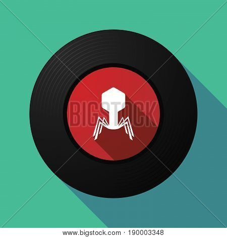 Long Shadow Music Disc With A Virus