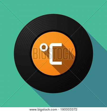 Long Shadow Music Disc With  A Celsius Degree Sign