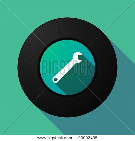 Long Shadow Music Disc With A Spanner