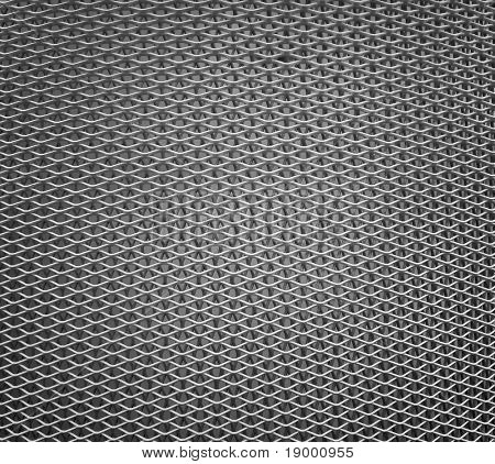Metal grid - texture poster