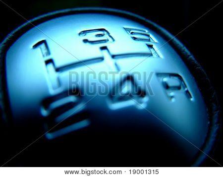 Caja de engranajes de cambio moderno - concepto de velocidad
