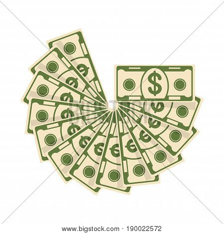 Color Spread Of Cash