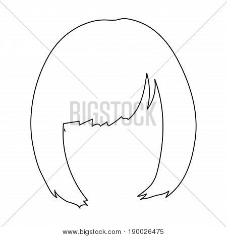 Squareck Hairstyle Vector Photo Free Trial Bigstock