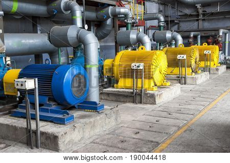 View on Large Water pumps with electric motors