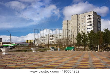 Young City Polyarnye Zori,russia