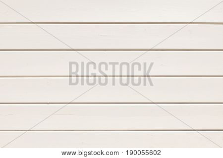 Background of neat boards painted with white paint. Background image texture
