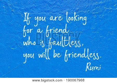 Who Faultless Rumi