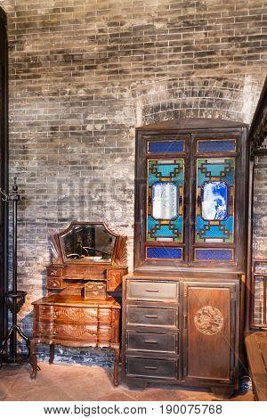 Furniture In Guangdong Folk Art Museum