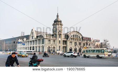 Square And Zhengyangmen East Railway Station