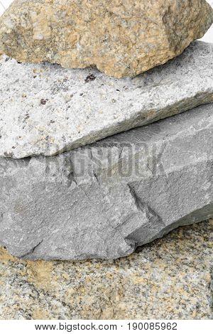 Close Up Rock Stone Mountain Pattern Texture