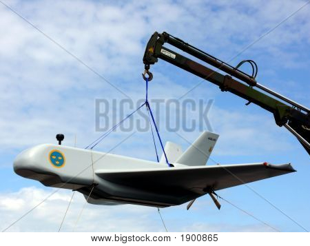 Military Airplane Prototype