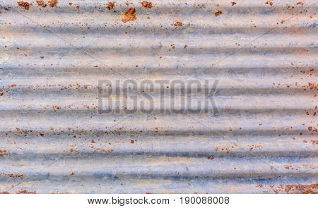 old zinc rust texture and pattern background