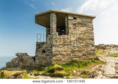 World War Two Coastal Observation Post South Stack, United Kingdom.