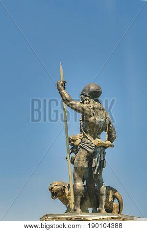 Guayas Y Kill Scuplture Monument, Guayaquil, Ecuador