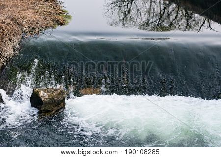 Water Stream In Yi River In Spring