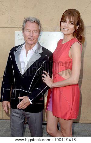 LOS ANGELES - JUN 5:  John Savage, Blanca Blanco at