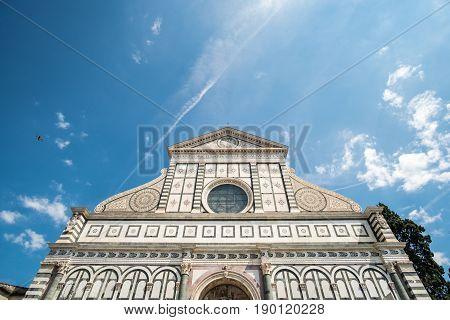 Santa Maria Novella, A Church In Florence, Italy.