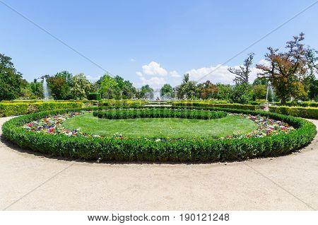 Garden In The Royal Site Of Aranjuez