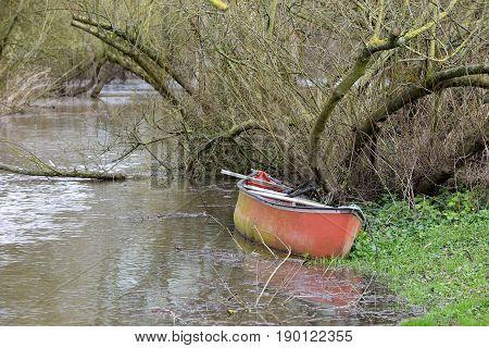 Abandoned Canoe