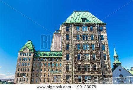 Hotel-Dieu de Quebec, a historic hospital in Quebec City - Canada