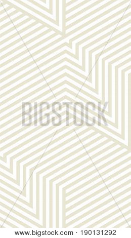 Abstract vector seamless op art pattern. Monochrome graphic ornament.
