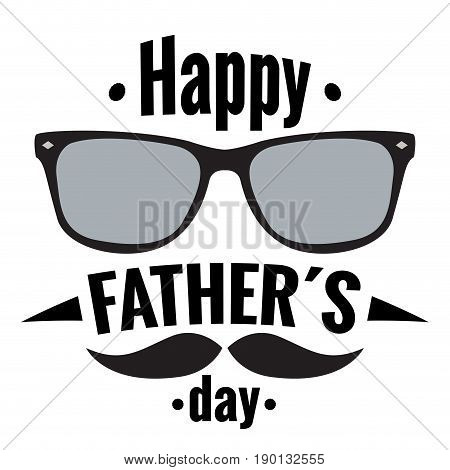 Happy fathers day graphic design, Vectro illustration