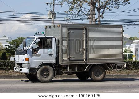 Private Cold Container Truck For Ice And Freed Food Transportation