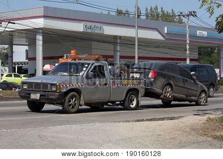 Nam Jaruen Tow Truck For Emergency Car Move