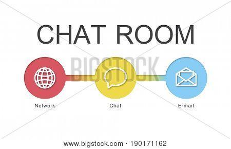 Chat Room Communication Digital