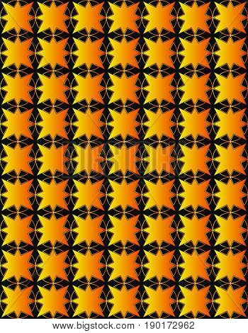 seamless pattern in islamic style. arabic gold star pattern. background for islamic invitations and greeting cards. ornamental decoration in eastern style. ramadan kareem islamic - stock vector