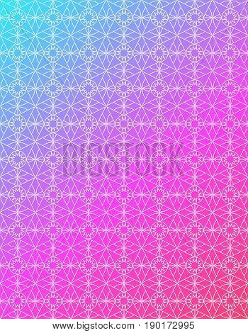 seamless pattern in islamic style. arabic gradient pattern. background for islamic invitations and greeting cards. ornamental decoration in eastern style. ramadan kareem islamic - stock vector