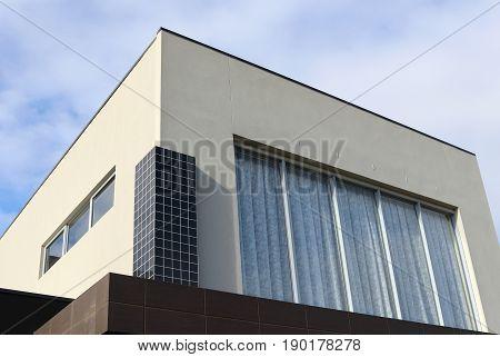 Modern architecture exterior details in Victoria Australia