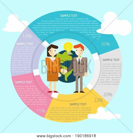 Affiliate Infographic   set of vector diagram illustration use for presentation, business, marketing and much more.The set can be used for several purposes like: websites, print templates, presentation templates, and promotional materials.