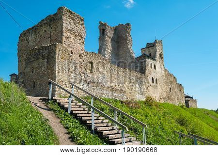 Ruins of the Livonian Order Castle. Rakvere Estonia Baltic States Europe