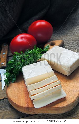 Cottage Cheese, Greens And Tomato