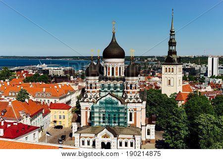 Red Roofs Of Tallinn Old Town, Estonia