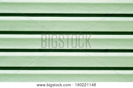 Green Color Plastic Panel Wall Pattern.