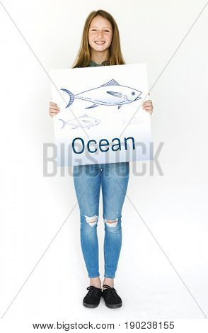 Ocean animal fish aquatic ecosystem