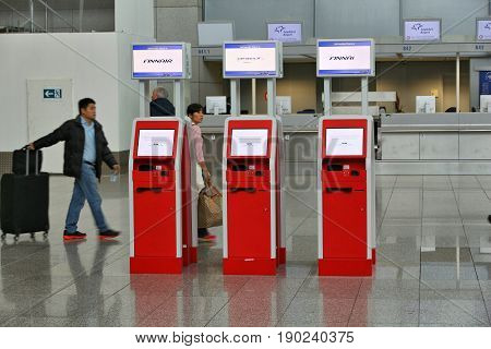 Automatic Check-in Machine
