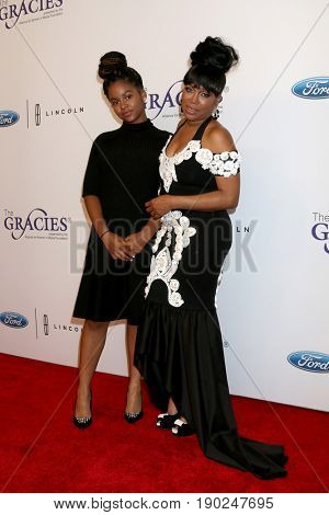 LOS ANGELES - JUN 6:  Bailei Knight,  Michel'le at the 42nd Annual Gracie Awards at the Beverly Wilshire Hotel on June 6, 2017 in Beverly Hills, CA