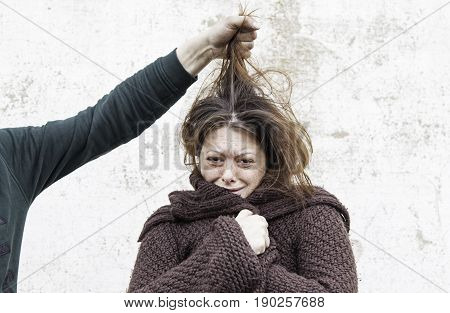 Woman Victim Of Man