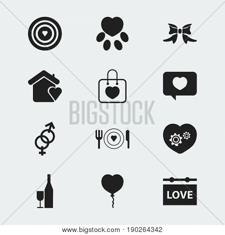 Set Of 12 Editable Amour Icons. Includes Symbols Such As Board, Fizz, Dishes And More. Can Be Used For Web, Mobile, UI And Infographic Design.