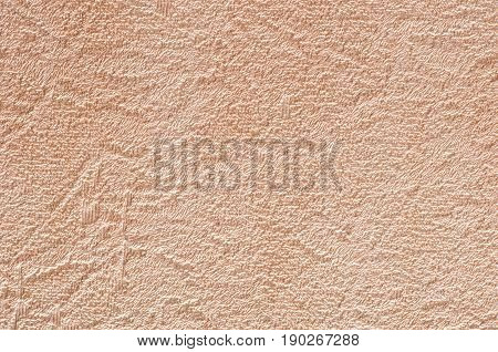 Rough abstract scratched beige brown wall texture